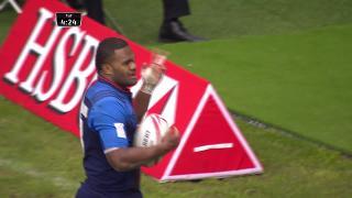 Try, Virimi Vakatawa, FRANCE v Fiji