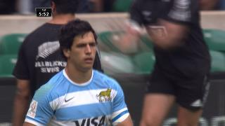 Try, Matias Moroni, ARGENTINA v Brazil