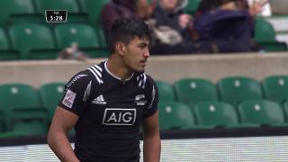 Try, Rieko Ioane, Argentina v NEW ZEALAND