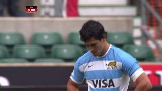 Try, Matias Moroni, ARGENTINA v France
