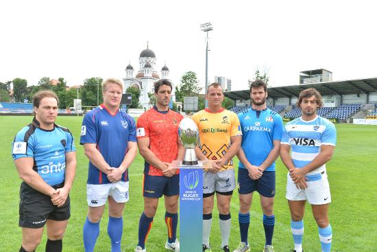 World Rugby Nations Cup 2016 captains