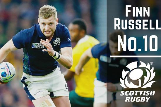 Scotland's creative mastermind Finn Russell