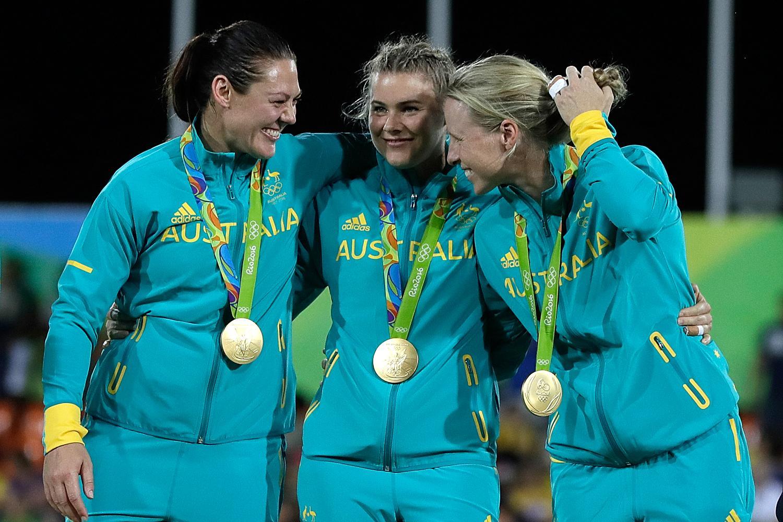 Olympic gold medal winners - Australia women's sevens