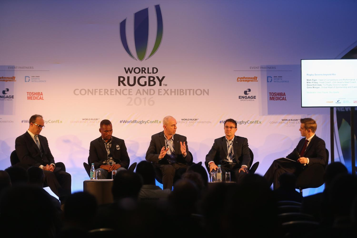 World Rugby ConfEx 2016 - Day 1