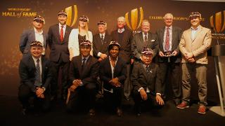 World Rugby Hall of Fame inductees