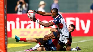 Emirates Dubai Rugby Sevens: HSBC Sevens World Series - Day Three