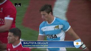 Try, Baustista Delguy, ARGENTINA vs Canada