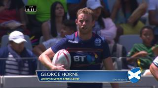 Try, George Horne, SCOTLAND vs Uganda