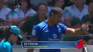 Try, Ed Fidow, SAMOA vs Russia