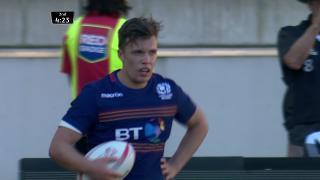 Try, Gavin Lowe, SCOTLAND v Wales