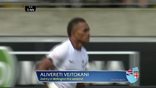 Try, Alivereti Veitokani, Scotland v FIJI