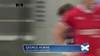 Try, SCOTLAND v Canada, George Horne