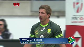 Try, Kwagga Smith, Canada v SOUTH AFRICA