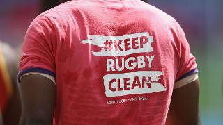KEEP RUGBY CLEAN