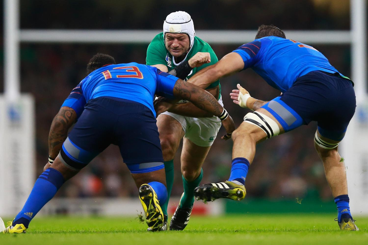RWC 2015: Ireland v France - Rory Best