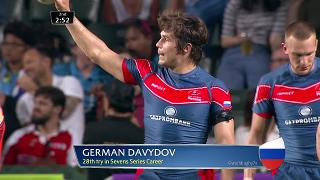 Try, German Davydov, USA v RUSSIA