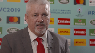 Reaction: Wales coach Warren Gatland on Rugby World Cup 2019 pool draw