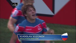 Try, Vladislav Sozonov, Australia v RUSSIA