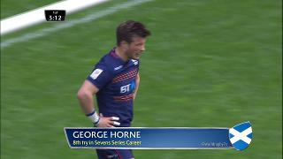 Try, George Horne, Canada v SCOTLAND