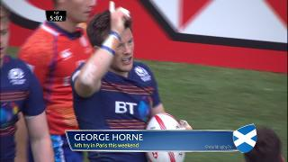 Try, George Horne, SCOTLAND v England