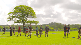 Wales train at the World Rugby U20s 2017