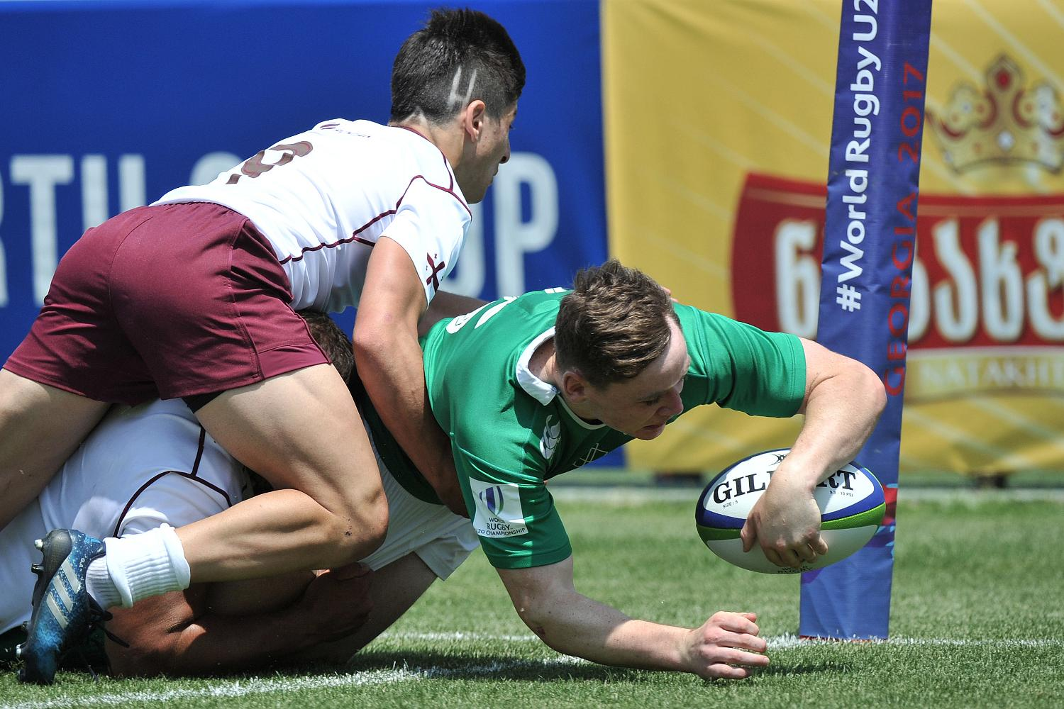 World Rugby U20 Championship 2017: Ireland v Georgia