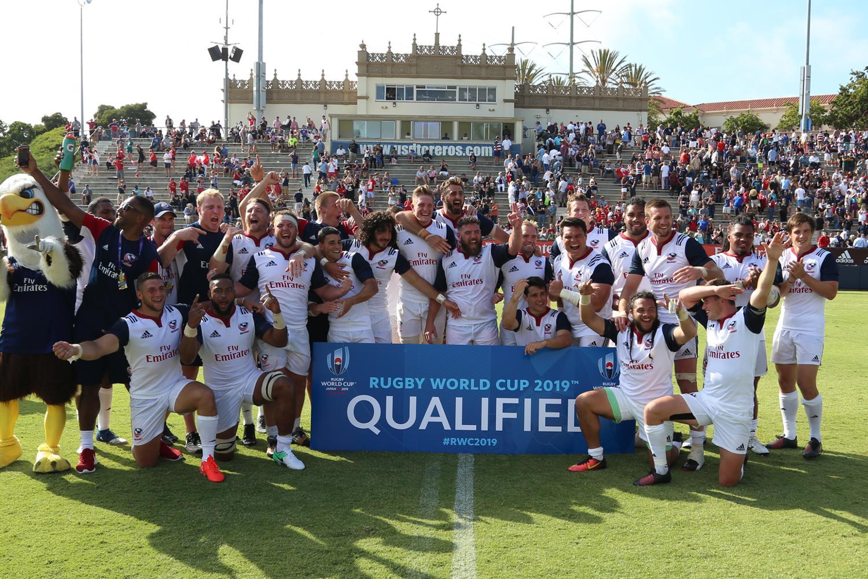 USA qualify for RWC 2019