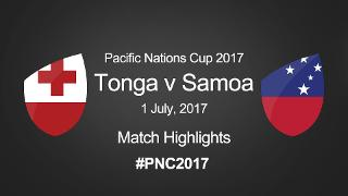 PNC 2017: TONGA v SAMOA - Match Highlights