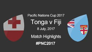 PNC 2017: TONGA v FIJI - Match Highlights