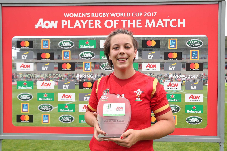 WRWC 2017: Ireland v Wales