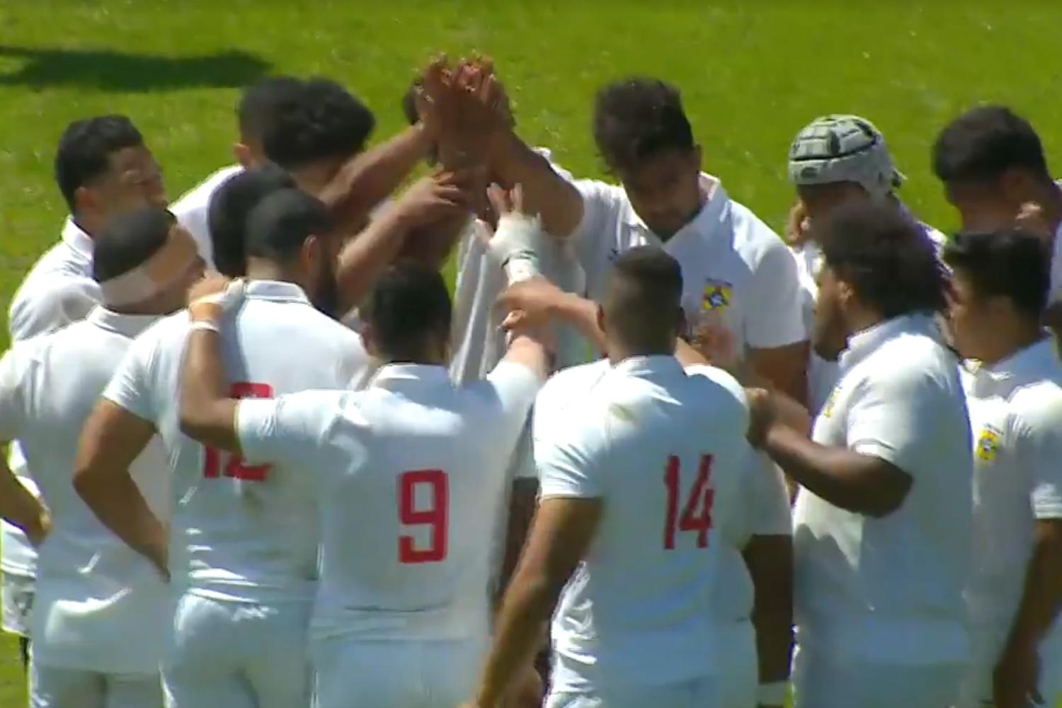Tonga 'A' at Americas Pacific Challenge