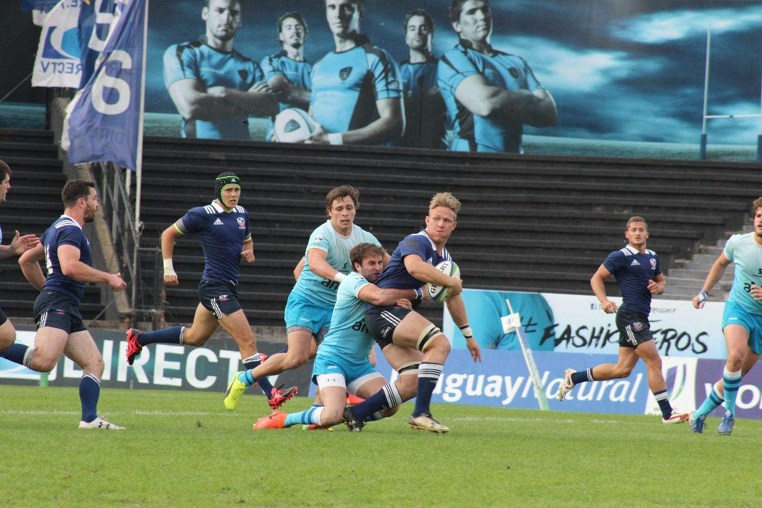 Americas Pacific Challenge 2017 Round 2: USA Select XV v Uruguay A