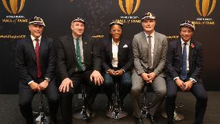 Five players inducted into World Rugby Hall of Fame