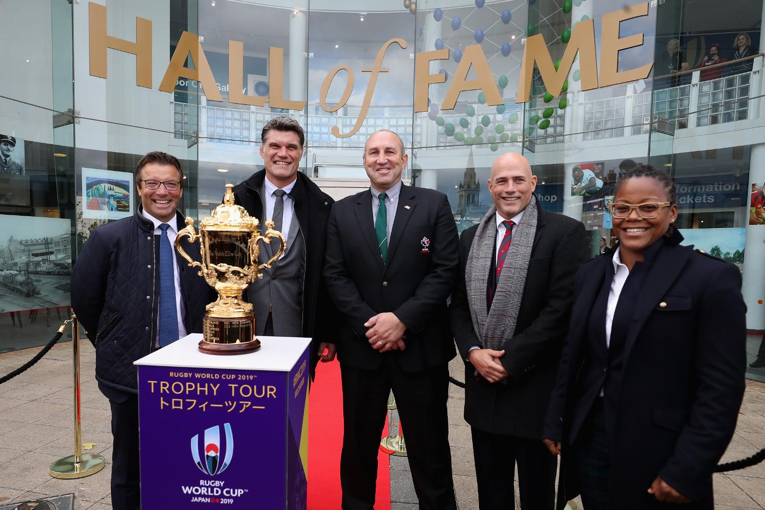 World Rugby Hall of Fame 2017 inductions