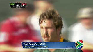 Try, KWAGGA SMITH, SOUTH AFRICA v Kenya