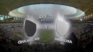 NZLvARG, Cup Final - Full match