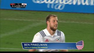 Try, Ben Pinkelman, Canada vs USA