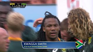 Try, Kwagga Smith, Australia vs SOUTH AFRICA