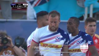 Try, Ben Pinkelman, Samoa vs USA