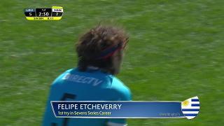 Try, Felipe Etcheverry, URUGUAY vs Samoa