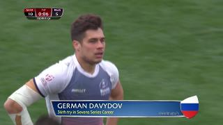 Try, German Davydov, Scotland vs RUSSIA