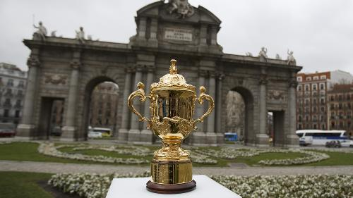 Rugby World Cup 2019 Trophy Tour: Madrid - Day 1