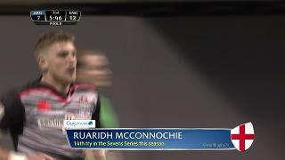 Try, Ruaridh McConnochie, ENGLAND v Argentina