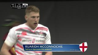 Try, Ruaridh Mcconnochie, New Zealand vs ENGLAND