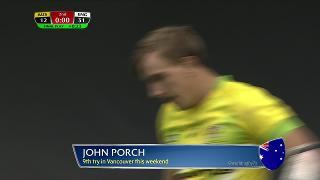 Try, John Porch, AUSTRALIA vs England