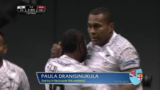 Try, Paula Dranisinukula, FIJI vs Kenya