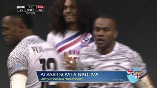 Try, Alasio Sovita Naduva, FIJI vs Kenya