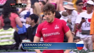 Try, German Davydov, RUSSIA v Samoa