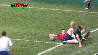 Try, George Horne. South Africa v SCOTLAND