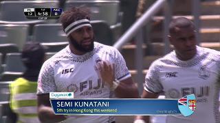 Try, Semi Kunatani, FIJI v Argentina